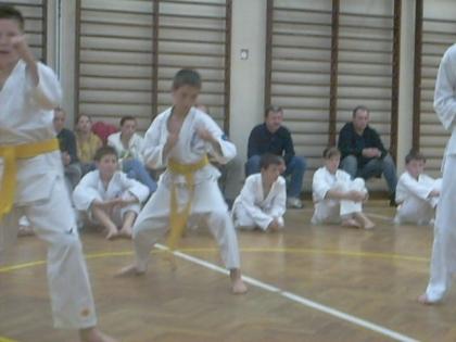 Egzamin karate OYAMA Warszawa