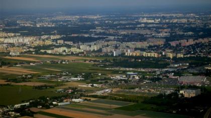 Warszawa z lotu ptaka 2