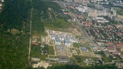 Widok z lotu Wrocław 2
