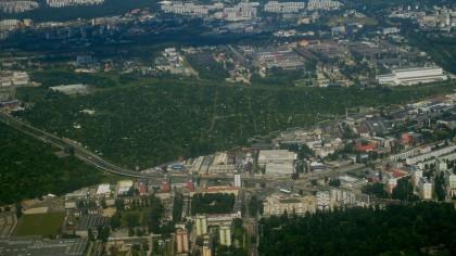 Widok z lotu Wrocław 3
