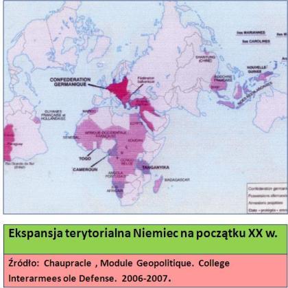Ekspansja Niemiec Geopolityka wykład