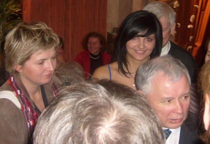 Prezes PIS Jarosław Kaczyński w dyskusji bezpośrednie z blogerami Salonu24.pl