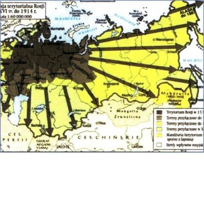 Rosja ekspansja Geopolityka