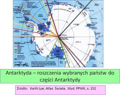 Roszczenia wobec Antarktydy wykład