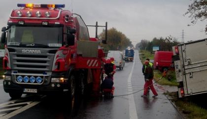 Wypadek akcja usuwania pojazdu Stirlitz