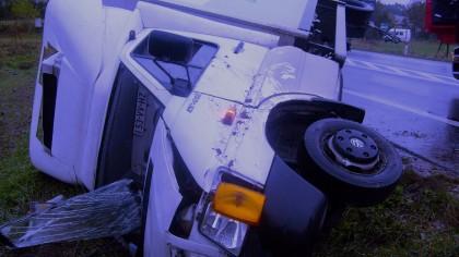 Wypadek drogowy pod Lublinem