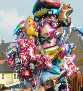 Kolorowe balony dla dzieci - inne niż za moich lat