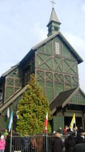Kościół drewniany na Cmentarzu Bródnowskim