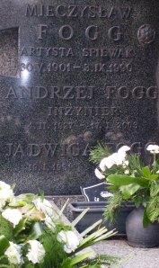 Grób Mieczysława Fogga