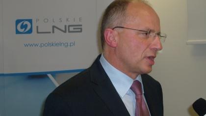 Prezes Zarządu Polskiego LNG Sp. z o.o. Zbigniew Rapciak