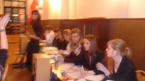 Debata studentów UW Katedra Europeistyki