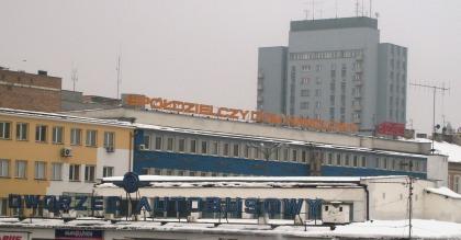 Widok na dworzec PKS