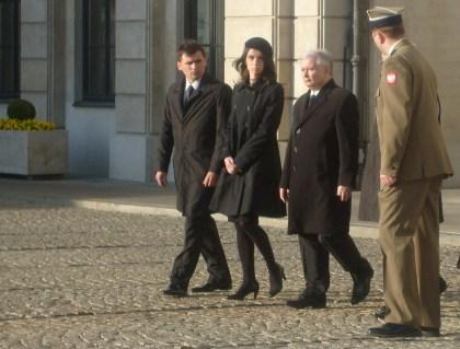 Córka Lecha Kaczyńskiego Marta , Brat Jarosław Kaczyński