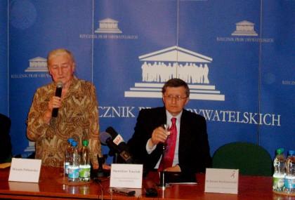 Dr. Wanda Półtawska , Z-ca RPO Stanisław Trociuk 23.04.2010