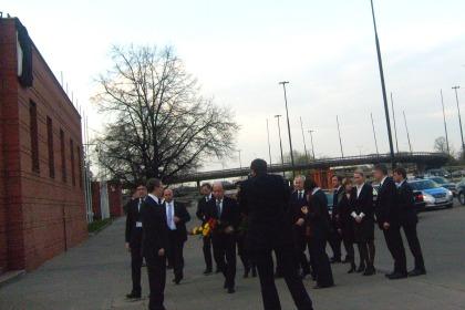 Oficjalna delagacja Ambasady Litewskiej Kaplica Torwar 15.04.2010
