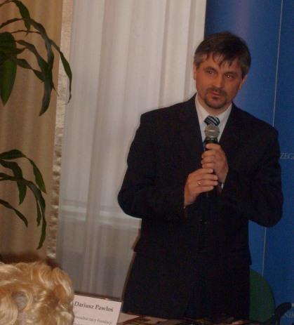Przewodniczacy Fundacji Pol-Niemieckiej POJEDNANIE Dariusz Pawłoś