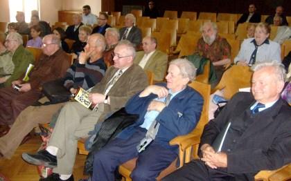 Publiczność na sali ZLP w Warszawie 28.04.2010