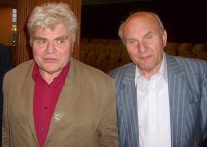 W. Michałowski z płk. Lareckim 28.04.2010 ZLP Dom Literatów