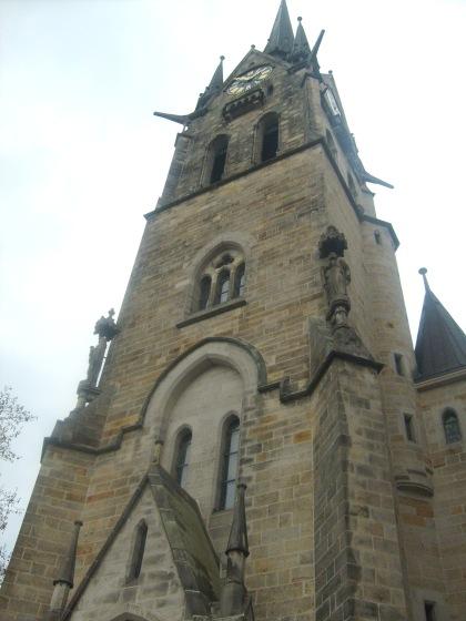 Kościól w centrum miasta