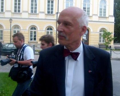 Debata UW Kandydat na Prezydenta RP Janusz Korwin Mikke