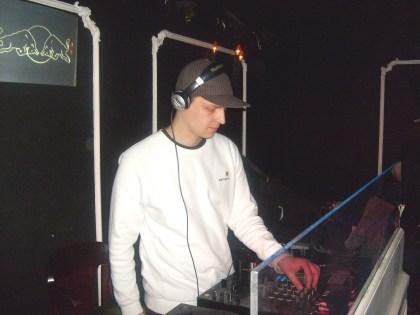 DJ w nocnym klubie Endorfina na imprezie Plaboy 2010