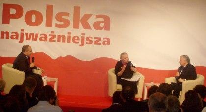 Debata PiS Kowal - Staniszkis- J. Kaczyński Hotel Europejski 01.06.2010
