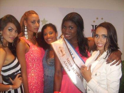 Ekipa Miss z Afryki