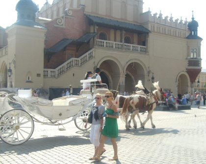 Dorożka na krakowskim rynku nr.2