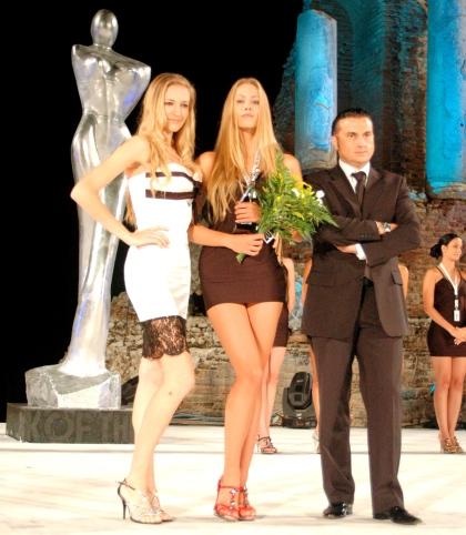 Karolina Mikołajczyk Model Award 2010 Taormina