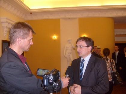 Zbigniew Ziobro PiS udziela wywiadu red. Orzechowskiemu