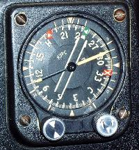 Radiokompas RMI na samolocie TU-154M
