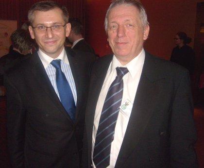 Sprawiedliwości Krzysztof Kwiatkowski i Redaktor Wojciech Stefan Jaroń