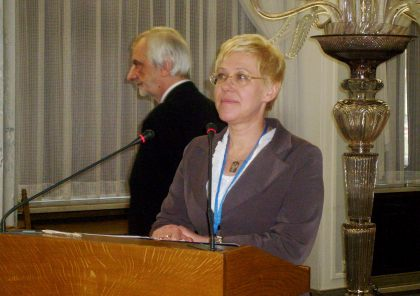 Organizator Konferencji Barbara Nowak