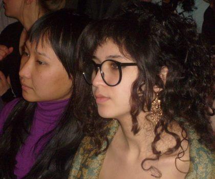 Studentki z Azerbajdzanu na wykładzie na UW     23.02.2011