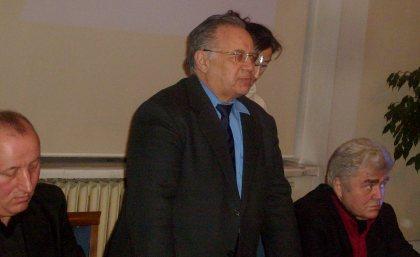 WykładAmbasadora Azerbajdzanu o historii z prawej red, Witold Michałowski autor ksiązki o prezydencie Alijewie
