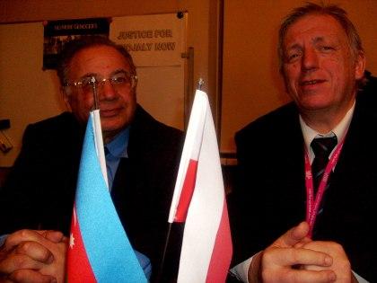 J.E. Hasan Aziz ogly Hasanov, Ambasador Nadzwyczajny i Pełnomocny Republiki Azerbejdżanu w Polsce i red. Wojciech Stefan Jaroń - wywiad