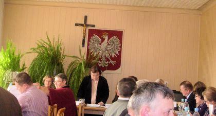 Nadzwyczajna sesja Rady Gminy w Klembowie