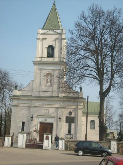 Kościół parafialny w Klembowie