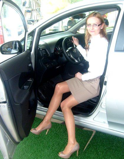 Toyota VERSO - S widok od strony kierowcy