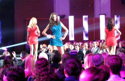 Anna Krupa Nr.17 wice Miss Polonia 2011 na wybiegu