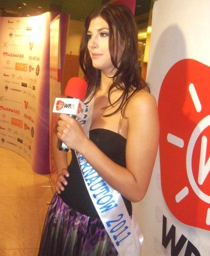 Miss Internetu finalistka Miss Polonia 2011 Beata  Stelamaszczyk