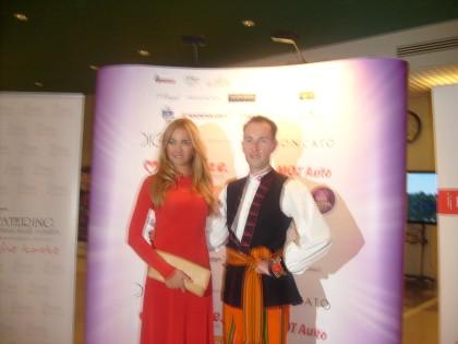 Rzecznik prasowy Zespołu Mazowsze i Miss Polonia 2010 Rozalia Mancewicz