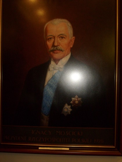 Portret Prezydenta RP Mościkiego