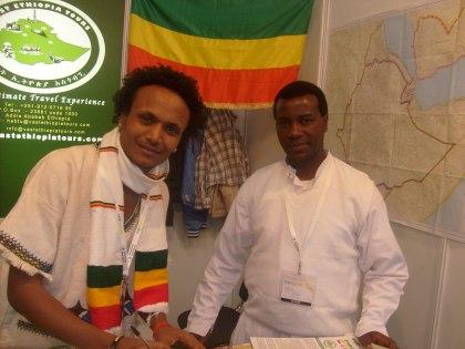 Stoisko turystyki wyjazdowej indywidualnej do Etiopii