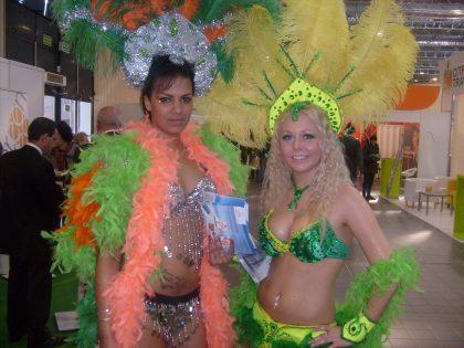 Najpiękniejsza promocja turystyki eventowej 2012 dziewczyny z piórami